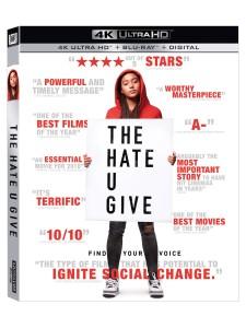 Cover Image for 'Hate U Give, The [4K Ultra HD + Blu-ray + Digital]'