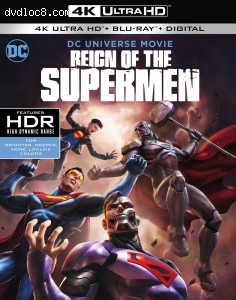 Cover Image for 'Reign of the Supermen [4K Ultra HD + Blu-ray + Digital]'