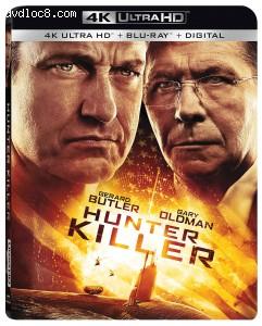 Cover Image for 'Hunter Killer [4K Ultra HD + Blu-ray + Digital]'