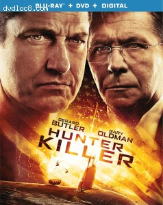 Hunter Killer [Blu-ray + DVD + Digital] Cover