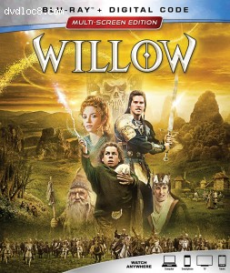 Cover Image for 'Willow [Blu-ray + Digital]'
