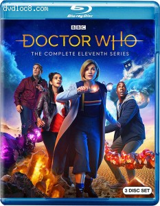 Cover Image for 'Doctor Who: The Complete Eleventh Series'