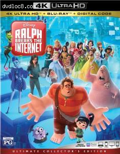 Cover Image for 'Ralph Breaks the Internet: Wreck It Ralph 2 [4K Ultra HD + Blu-ray + Digital]'