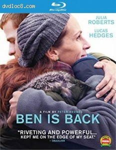 Cover Image for 'Ben is Back [Blu-ray + DVD + Digital]'