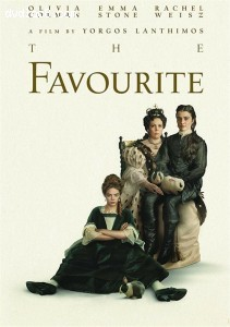Cover Image for 'Favourite, The [Blu-ray + DVD + Digital]'