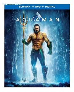 Cover Image for 'Aquaman [Blu-ray + DVD + Digital]'