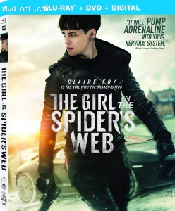Cover Image for 'Girl in the Spider's Web, The [Blu-ray + DVD + Digital]'