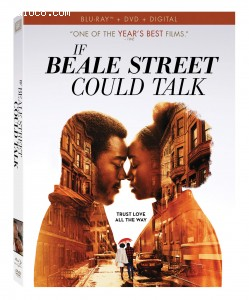Cover Image for 'If Beale Street Could Talk [Blu-ray + DVD + Digital]'
