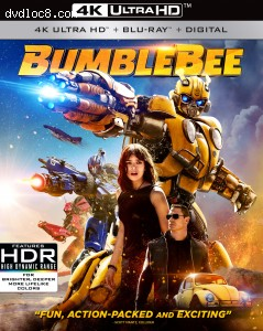 Cover Image for 'Bumblebee [4K Ultra HD + Blu-ray + Digital]'