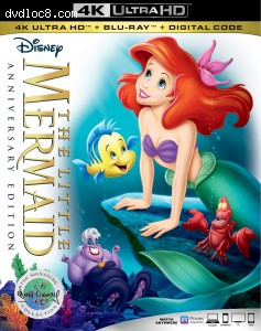 Cover Image for 'Little Mermaid, The: The Signature Collection [4K Ultra HD + Blu-ray + Digital]'