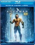Cover Image for 'Aquaman [Blu-ray 3D + Blu-ray + Digital]'