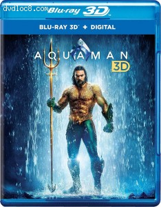 Cover Image for 'Aquaman (Amazon Exclusive) [Blu-ray 3D + Digital]'