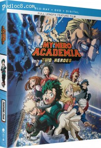 Cover Image for 'My Hero Academia: Two Heroes [Blu-ray + DVD + Digital]'