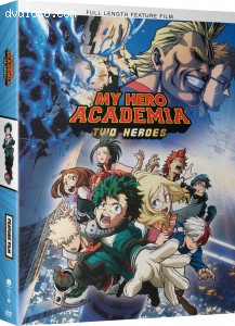 My Hero Academia: Two Heroes Cover