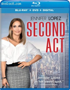 Cover Image for 'Second Act [Blu-ray + DVD + Digital]'