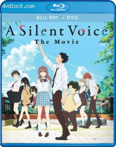 Cover Image for 'Silent Voice, A: The Movie [Blu-ray + DVD]'