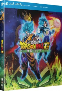 Cover Image for 'Dragon Ball Super: Broly [Blu-ray + DVD + Digital]'