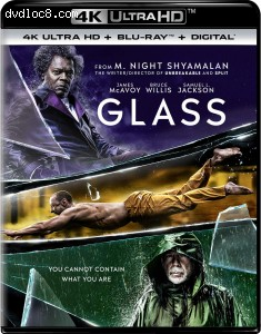 Glass [4K Ultra HD + Blu-ray + Digital] Cover