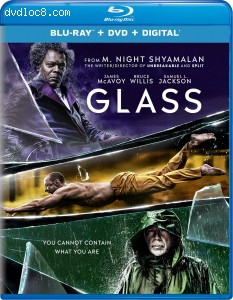 Glass [Blu-ray + DVD + Digital] Cover