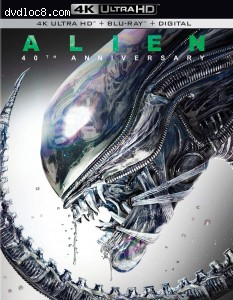 Cover Image for 'Alien: 40th Anniversary Edition [4K Ultra HD + Blu-ray + Digital]'