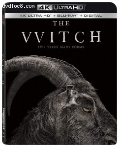 Witch, The [4K Ultra HD + Blu-ray + Digital] Cover