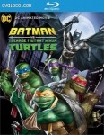 Cover Image for 'Batman vs Teenage Mutant Ninja Turtles [Blu-ray + DVD + Digital]'