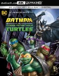 Cover Image for 'Batman vs Teenage Mutant Ninja Turtles [4K Ultra HD + Blu-ray + Digital]'