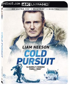 Cover Image for 'Cold Pursuit [4K Ultra HD + Blu-ray + Digital]'
