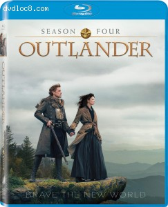 Cover Image for 'Outlander: Season Four [Blu-ray + Digital]'