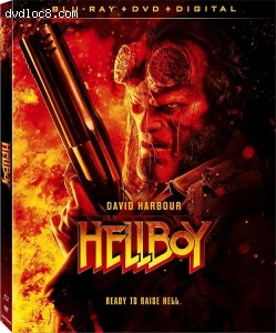 Hellboy [Blu-ray + DVD + Digital] Cover