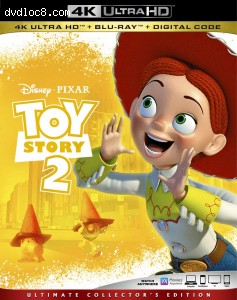 Cover Image for 'Toy Story 2 [4K Ultra HD + Blu-ray + Digital]'