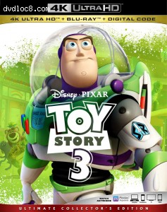 Cover Image for 'Toy Story 3 [4K Ultra HD + Blu-ray + Digital]'