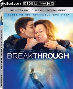 Cover Image for 'Breakthrough [4K Ultra HD + Blu-ray + Digital]'