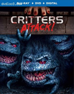 Cover Image for 'Critters Attack! [Blu-ray + DVD + Digital]'