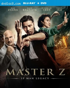 Cover Image for 'Master Z: IP Man Legacy [Blu-ray + DVD]'