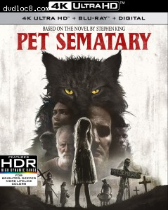 Cover Image for 'Pet Sematary [4K Ultra HD + Blu-ray + Digital]'