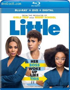 Cover Image for 'Little [Blu-ray + DVD + Digital]'