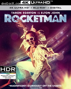Cover Image for 'Rocketman [4K Ultra HD + Blu-ray + Digital]'