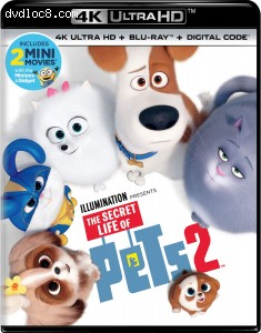 Cover Image for 'Secret Life of Pets 2, The [4K Ultra HD + Blu-ray + Digital]'
