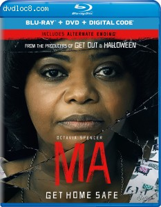Cover Image for 'Ma [Blu-ray + DVD + Digital]'