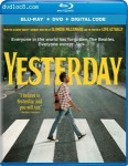 Cover Image for 'Yesterday [Blu-ray + DVD + Digital]'