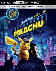 Cover Image for 'Pokémon Detective Pikachu [4K Ultra HD + Blu-ray + Digital]'