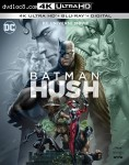 Cover Image for 'Batman: Hush [4K Ultra HD + Blu-ray + Digital]'