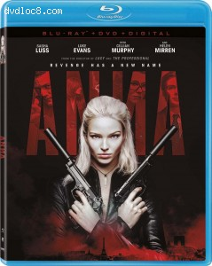 Cover Image for 'Anna [Blu-ray + DVD + Digital]'