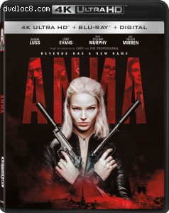 Cover Image for 'Anna [4K Ultra HD + Blu-ray + Digital]'