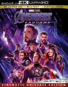Cover Image for 'Avengers: Endgame [4K Ultra HD + Blu-ray + Digital]'