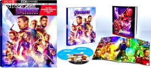 Avengers: Endgame (Target Exclusive DigiPack) [4K Ultra HD + Blu-ray + Digital] Cover