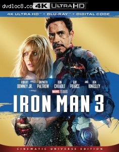 Iron Man 3 [4K Ultra HD + Blu-ray + Digital]