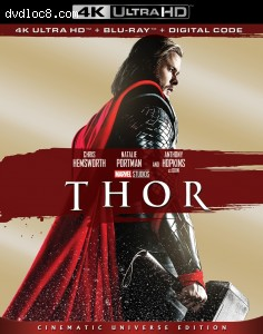Cover Image for 'Thor [4K Ultra HD + Blu-ray + Digital]'