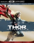Cover Image for 'Thor: The Dark World [4K Ultra HD + Blu-ray + Digital]'